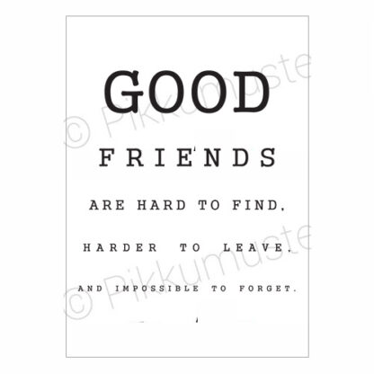 Good Friends -postikortti
